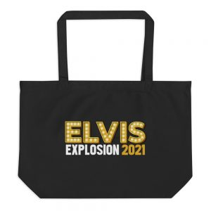 large eco tote black front